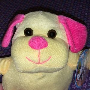 Accessories - Yellow and pink dog plush